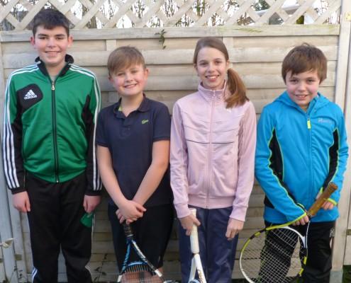 Tennis-Mannschaft KIDs CUP U12