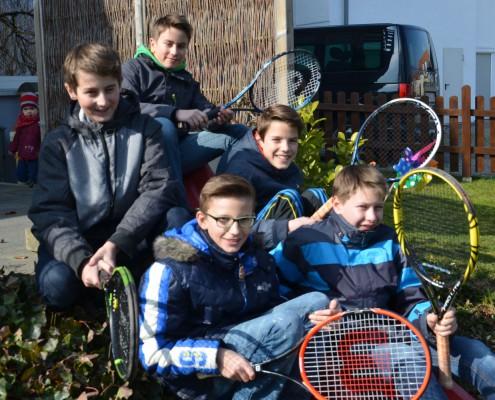 Tennis-Mannschaft Knaben Aulendorf
