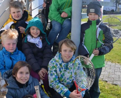 Tennis-Mannschaft U10 Midcourt